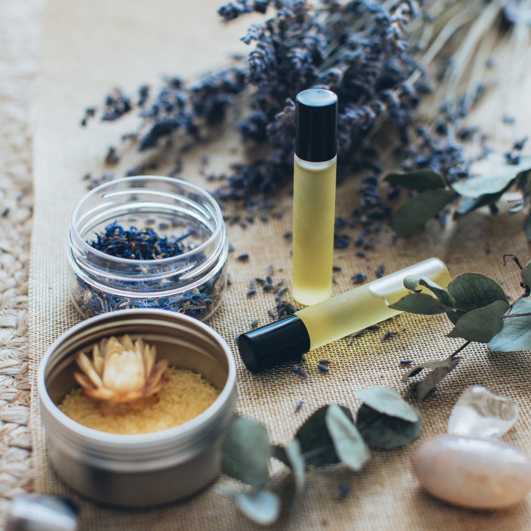 aroma therapy blends - workshop