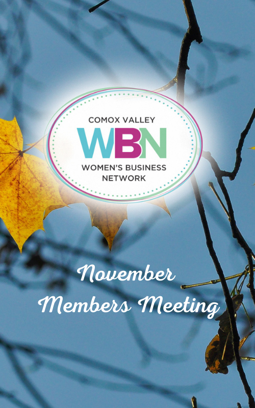 Our November Meeting